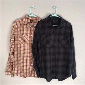 Obey long Sleeve size small bundle